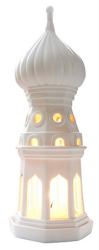 Bisque Fyodor Tower - Candle Holder