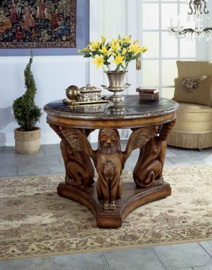 Round Hall Table