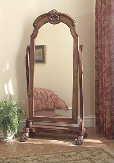 Cheval mirror for Antique standing mirror