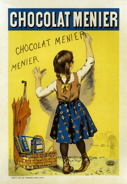 VINTAGE CHOCOLATE ART PRINT Chocolat by Theophile Alexandre Steinlen Poster